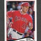 2014 Topps Mini Baseball #043 Mark Trumbo - Los Angeles Angels