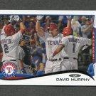 2014 Topps Mini Baseball #039 David Murphy - Texas Rangers
