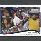 2014 Topps Mini Baseball #022 Mike Napoli WS - Boston Red Sox