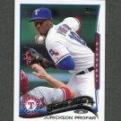 2014 Topps Mini Baseball #018 Jurickson Profar - Texas Rangers