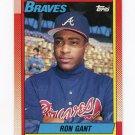 1990 Topps Baseball #567 Ron Gant - Atlanta Braves