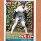 1991 Topps Traded Baseball #008T George Bell - Chicago Cubs