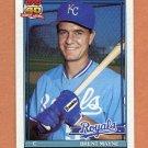 1991 Topps Baseball #776 Brent Mayne - Kansas City Royals