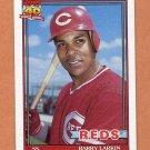 1991 Topps Baseball #730 Barry Larkin - Cincinnati Reds
