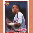 1991 Topps Baseball #723 Candy Maldonado - Cleveland Indians ExMt