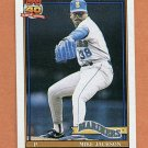 1991 Topps Baseball #534 Mike Jackson - Seattle Mariners