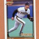 1991 Topps Baseball #272 Jeff King - Pittsburgh Pirates