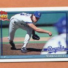 1991 Topps Baseball #265 Mark Gubicza - Kansas City Royals