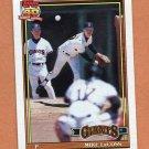 1991 Topps Baseball #242 Mike LaCoss - San Francisco Giants