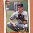 1991 Topps Baseball #218 Rick Parker - San Francisco Giants