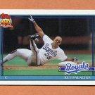 1991 Topps Baseball #148 Rey Palacios - Kansas City Royals