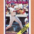 1988 O-Pee-Chee Baseball #307 John Shelby - Los Angeles Dodgers