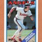 1988 Topps Baseball #420 Wally Joyner - California Angels