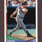 1994 Topps Baseball #358 Paul Sorrento - Cleveland Indians