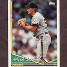 1994 Topps Baseball #101 Mark Dewey - Pittsburgh Pirates