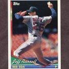 1994 Topps Baseball #055 Jeff Russell - Boston Red Sox
