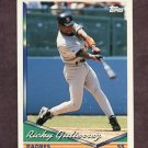 1994 Topps Baseball #042 Ricky Gutierrez - San Diego Padres