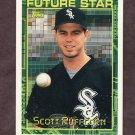 1994 Topps Baseball #356 Scott Ruffcorn - Chicago White Sox