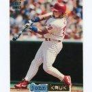 1994 Stadium Club Dugout Dirt Baseball #DD03 John Kruk - Philadelphia Phillies