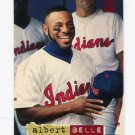1994 Stadium Club Baseball #219 Albert Belle - Cleveland Indians