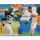 1994 Stadium Club Baseball #180 Fred McGriff / Gary Sheffield - Braves / Marlins