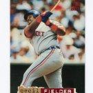 1994 Stadium Club Baseball #025 Cecil Fielder - Detroit Tigers