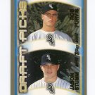 2000 Topps Baseball #214 Jason Stumm / Rob Purvis RC - Chicago White Sox