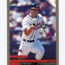 2000 Topps Baseball #016 Javy Lopez - Atlanta Braves