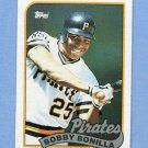 1989 Topps Baseball #440 Bobby Bonilla - Pittsburgh Pirates