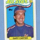1989 Topps Baseball #393 Gary Carter AS - New York Mets