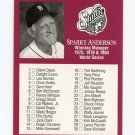 1991 Studio Baseball #261 Sparky Anderson MG CL - Detroit Tigers