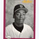 1991 Studio Baseball #256 Willie McGee - San Francisco Giants