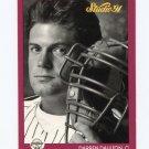 1991 Studio Baseball #212 Darren Daulton - Philadelphia Phillies