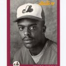 1991 Studio Baseball #195 Delino DeShields - Montreal Expos