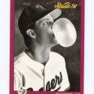 1991 Studio Baseball #126 Jeff Kunkel - Texas Rangers