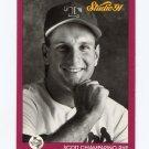 1991 Studio Baseball #122 Scott Chiamparino - Texas Rangers
