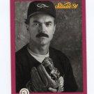 1991 Studio Baseball #002 Dwight Evans - Baltimore Orioles