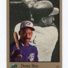 1992 Studio Baseball #252 Derek Bell - Toronto Blue Jays