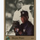 1992 Studio Baseball #218 Melido Perez - New York Yankees