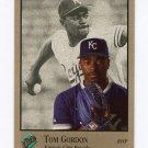 1992 Studio Baseball #182 Tom Gordon - Kansas City Royals