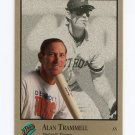 1992 Studio Baseball #179 Alan Trammell - Detroit Tigers