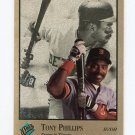 1992 Studio Baseball #176 Tony Phillips - Detroit Tigers