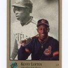 1992 Studio Baseball #168 Kenny Lofton - Cleveland Indians