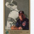 1992 Studio Baseball #162 Jack Armstrong - Cleveland Indians