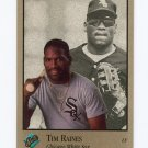 1992 Studio Baseball #156 Tim Raines - Chicago White Sox
