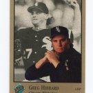 1992 Studio Baseball #153 Greg Hibbard - Chicago White Sox