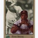 1992 Studio Baseball #142 Hubie Brooks - California Angels