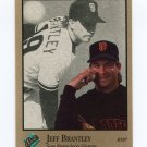1992 Studio Baseball #112 Jeff Brantley - San Francisco Giants