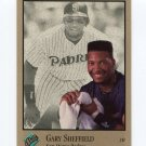 1992 Studio Baseball #108 Gary Sheffield - San Diego Padres