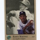 1992 Studio Baseball #046 Ramon Martinez - Los Angeles Dodgers
